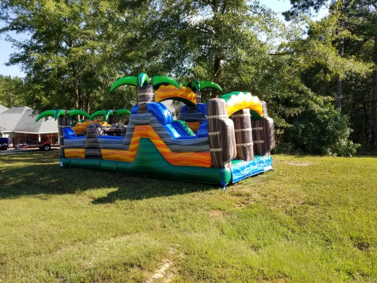 35ft Monsoon Obstacle Courses Dry