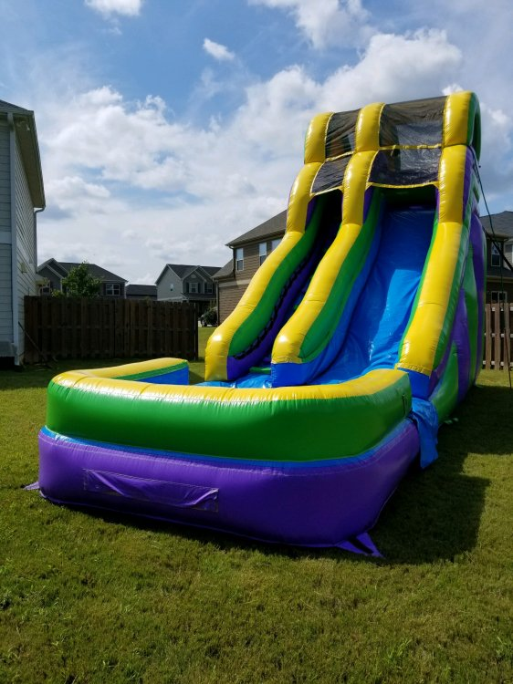 18ft Double Dip Water Slide