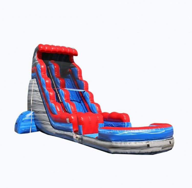 22ft Patriot Water Slide
