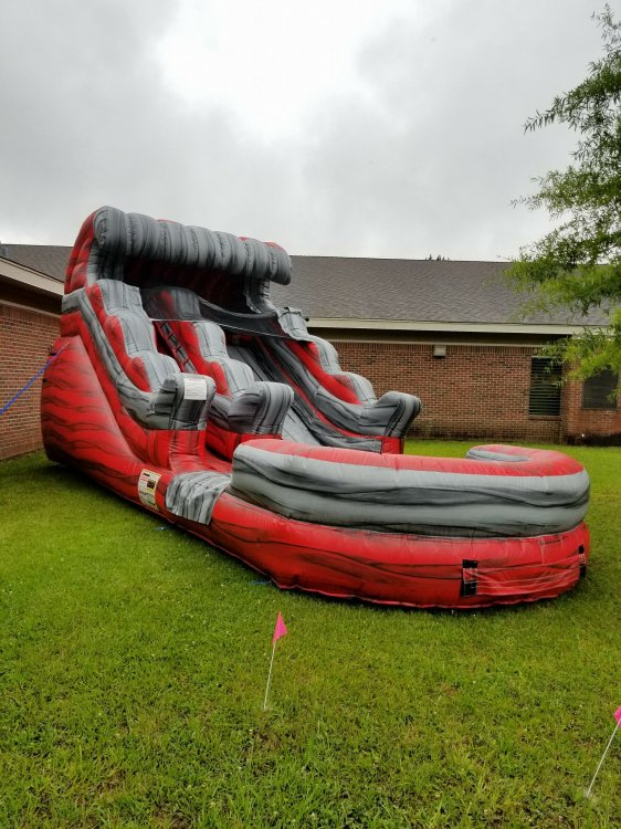 14ft Lava Rush Water Slide