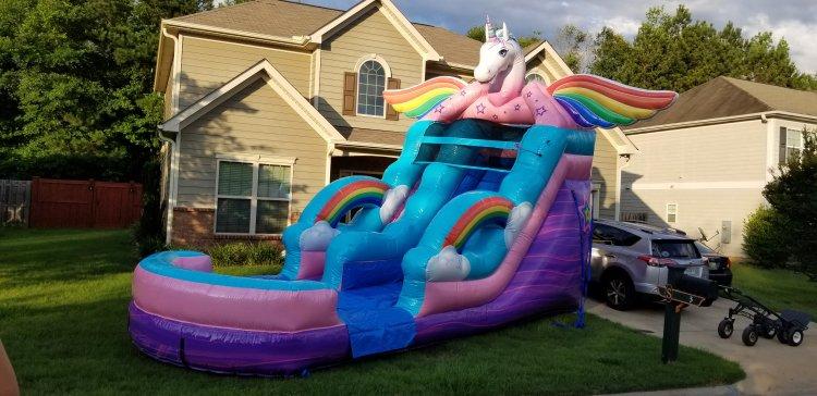 16ft Unicorn Slide