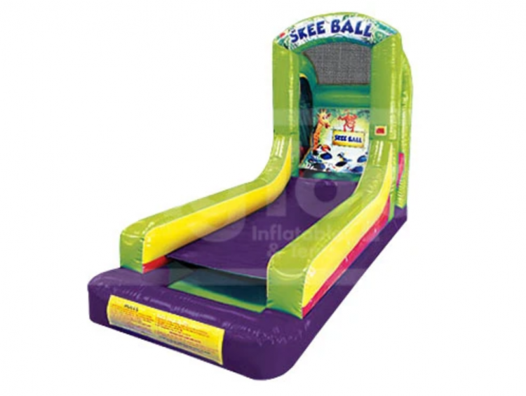 Inflatable Carnival Skee Ball